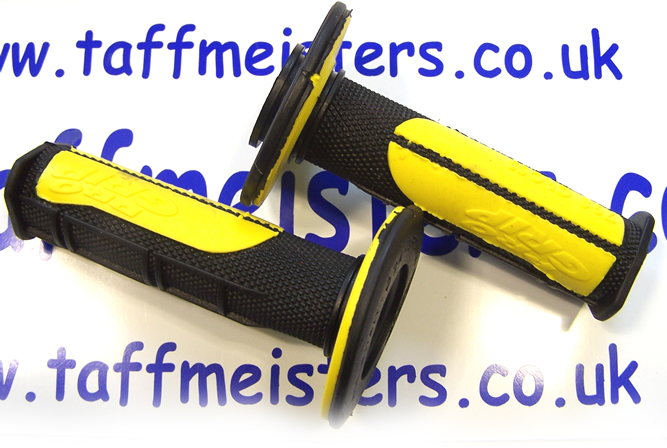 100505 - Gel Pro Grips Black & Yellow.All models all years