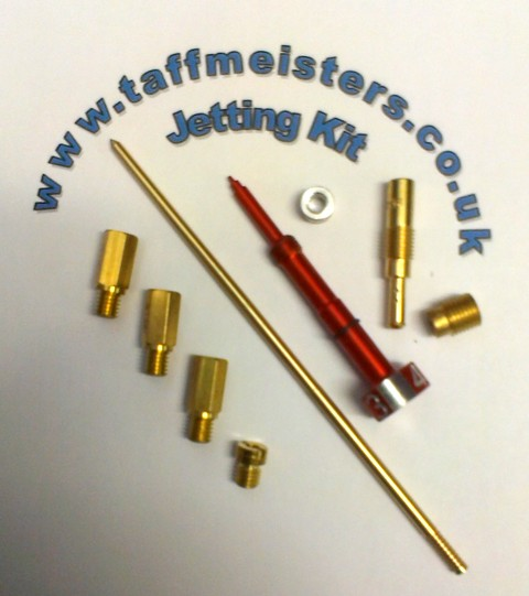 100573 - Jetting Kit Including 'The Super Needle' For Improved Perfomance. Keihin Carb 2004-2008