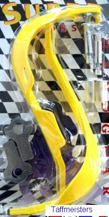 "100700 - Yellow Pro Rally Handguards- ""fat bar"""