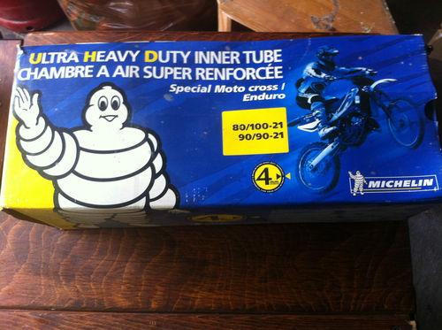 "100936 - Michelin Ultra Heavy Duty Front Tyre Inner Tube - 21"" x 300."