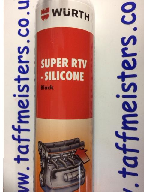 WURTH RTV SILICONE -BLACK