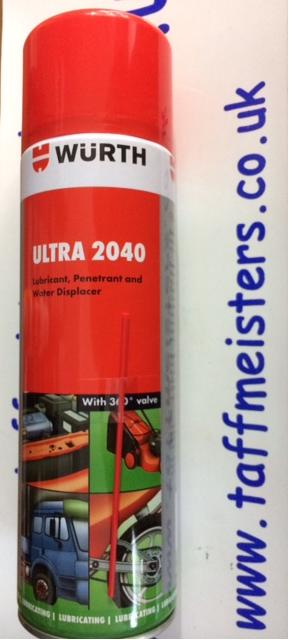 WURTH ULTRA 2040 LUBRICANT PENETRANT & WATER DISPLACER