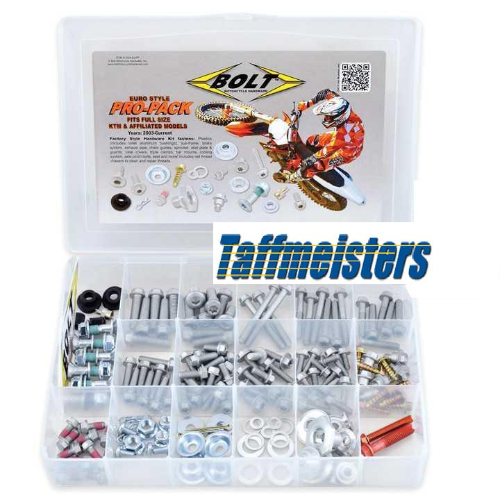 110286 - Aftermarket Husaberg Euro Style Bolt kIT 2003 +