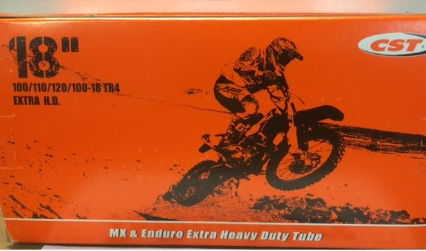 200029 -MX/ENDURO XHD INNER TUBE 18""