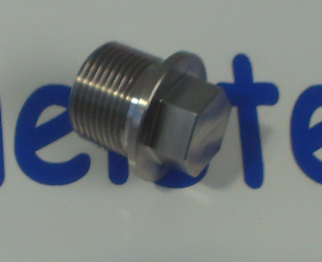 100239 - Stainless Steel Oil Drain Bung. (Replaces Part Number 22005101).1989-2002